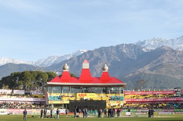 The Dharamsala ground
