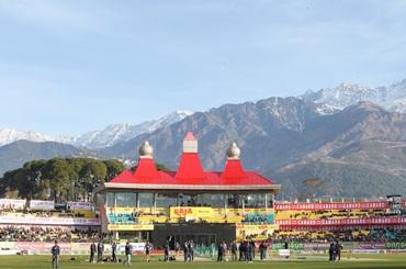 The Dharamsala ground