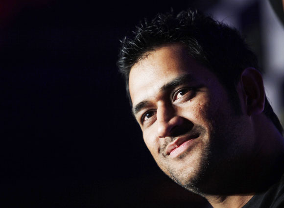 I never thought I will play for India: MS Dhoni