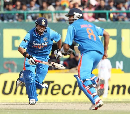 Suresh Raina and Ravindra Jadeja