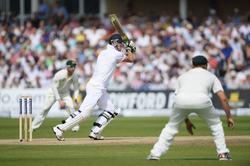 Kevin Pietersen hits out during day three