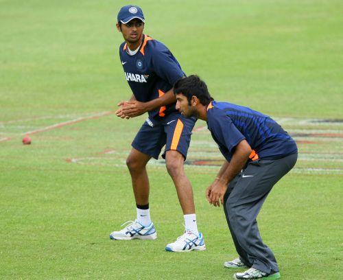 Jaydev Unadkat and Cheteshwar Pujara