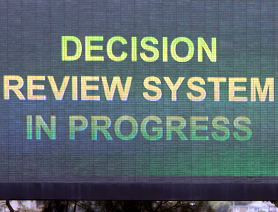 Rhodes supports Decision Review System