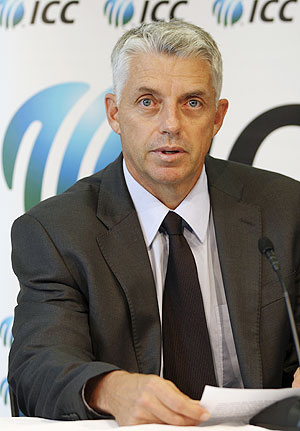ICC chief Dave Richardson