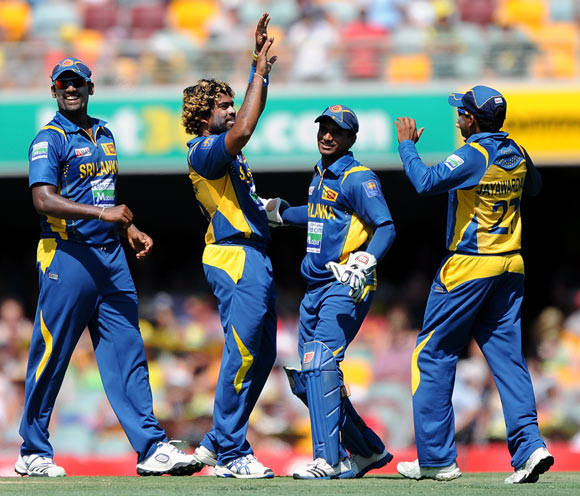 Malinga is always a threat with the ball