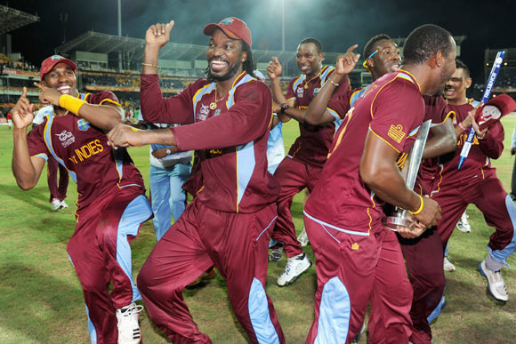 West Indies's hopes rest on Gayle, Bravo