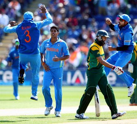 Dhawan's maiden ODI century helps India crush SA