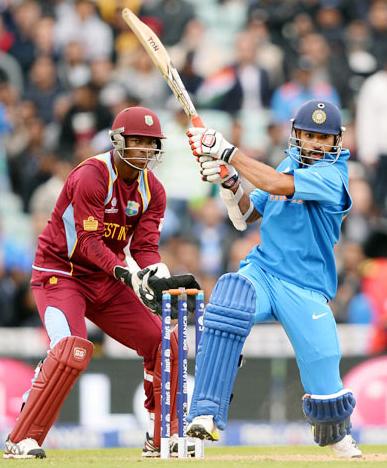 Champions Trophy: Jadeja, Dhawan power India into semi-final
