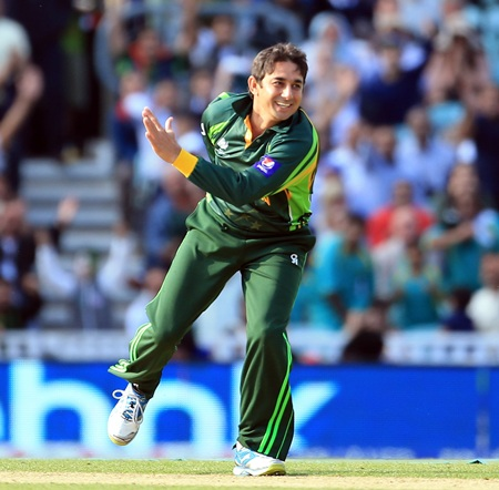 Pakistan's key bowler Saeed Ajmal