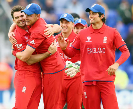 England down New Zealand in rain-hit match to enter Champions Trophy semis