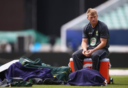Rediff Sports - Cricket, Indian hockey, Tennis, Football, Chess, Golf - Warner risked Ashes spot with bar brawl, says Clarke