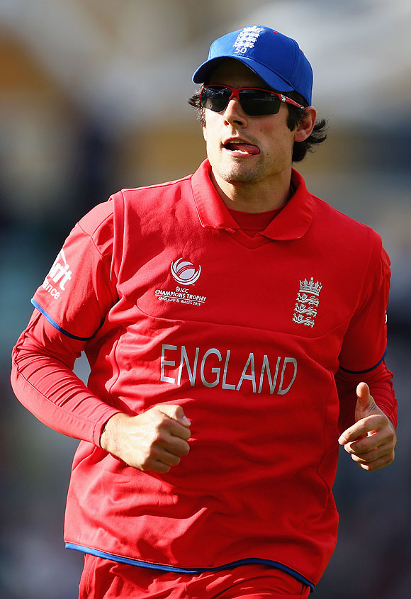 Rediff Sports - Cricket, Indian hockey, Tennis, Football, Chess, Golf - It's about handling the pressure well in big games: Cook
