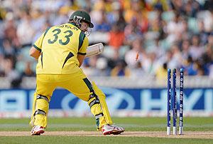 Watson's wicket turned the tide in Lanka's favour
