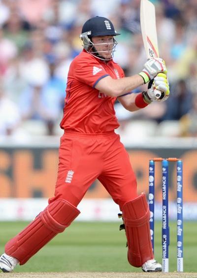 Ian Bell of England bats