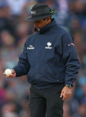 'Ball changing' Aleem Dar demoted to fourth umpire for CT final