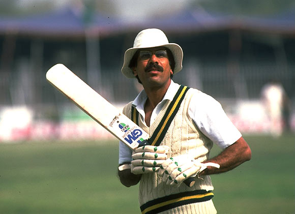 Zaheer Abbas, March 1984.