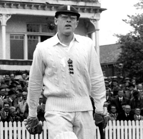 Geoff Boycott, one of England's great openers.