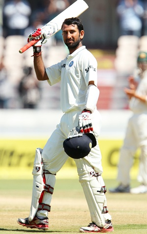 India sniff big win after another Pujara double