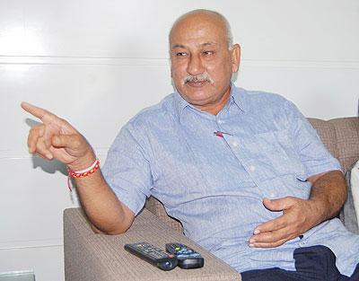 Cheteshwar Pujara's proud dad, Arvind Pujara