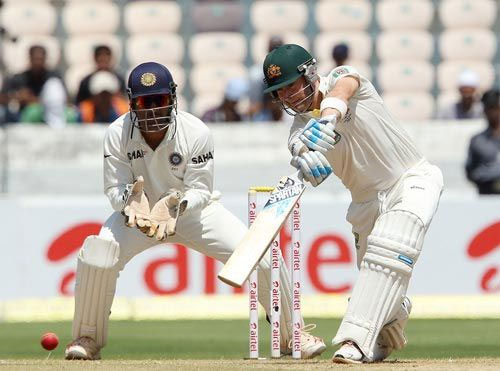 Michael Clarke, joint highest in the series so far, with Mahendra Singh Dhoni.