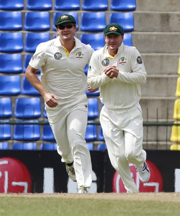 Watson and Michael Clarke