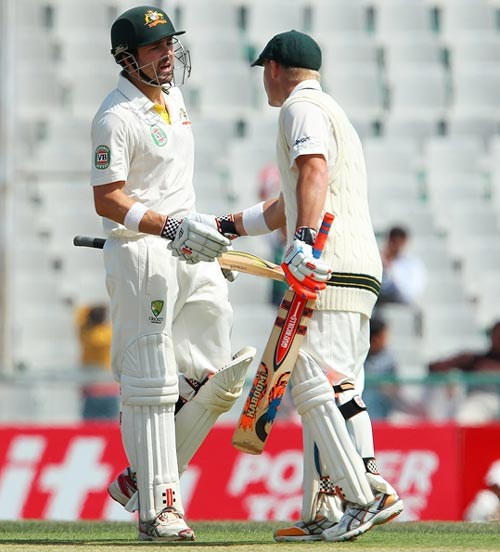 Ed Cowan and David Warner
