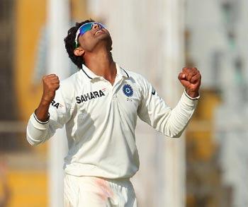 Mohali Test: Jadeja's double strike turns it India's way