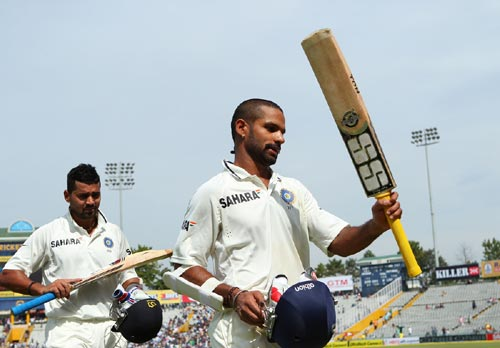 Stats: Dhawan announces himself at big stage