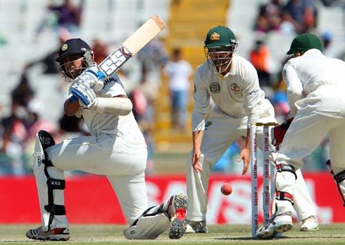 PHOTOS: India v Australia, Mohali Test, Day 4