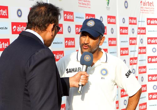 We don't think about revenge in sport: Dhoni