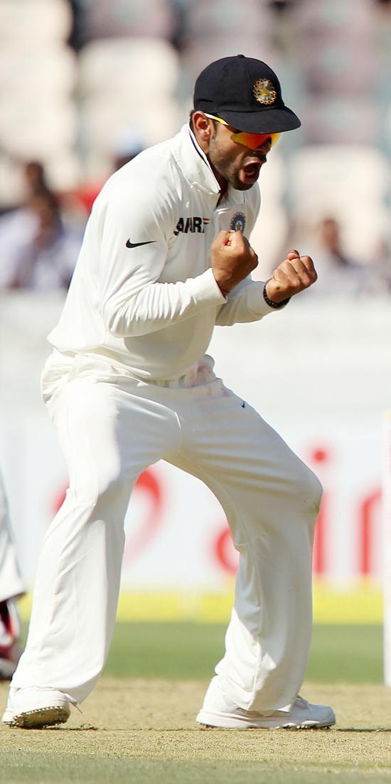 Virat Kohli played some elegant shots.
