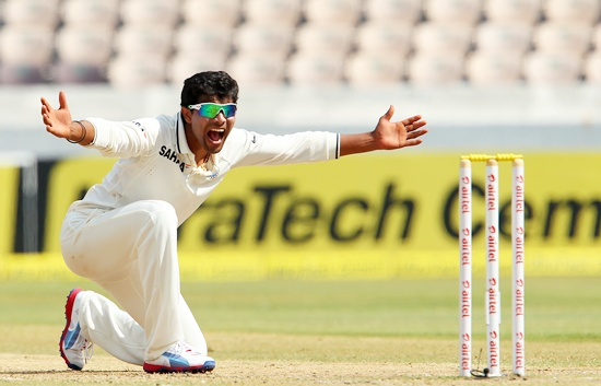 The Rajkot spinner took wickets at crucial times in the Mohali Test.