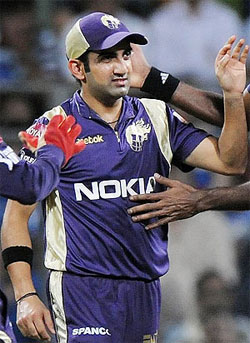 Down with jaundice, Gambhir likely to miss early part of IPL
