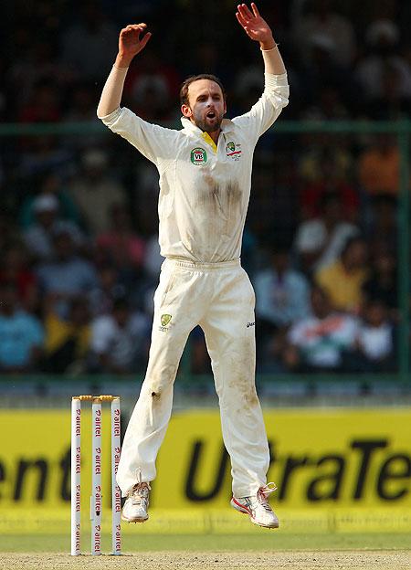Lyon's five-star performance sends India crashing