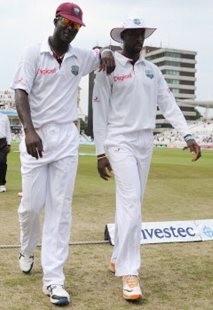Darren Sammy and Shane Shillingford