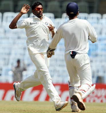 Ashwin had four five-wicket hauls against Australia