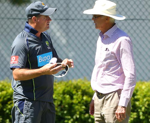 Mickey Arthur and John Inverarity