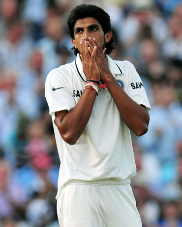 Ishant shone in patches