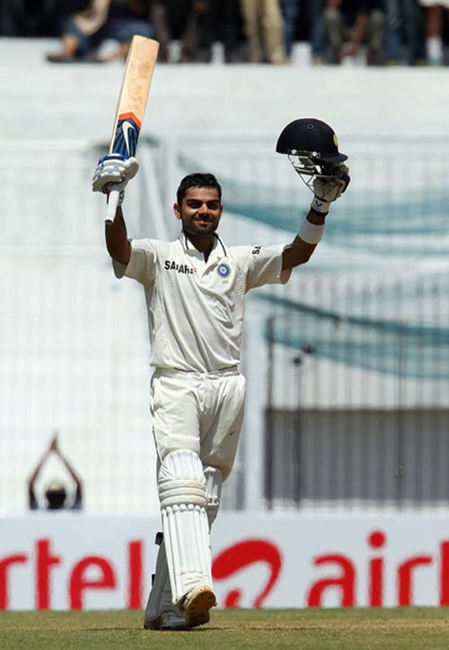Kohli didn't build his score after getting starts