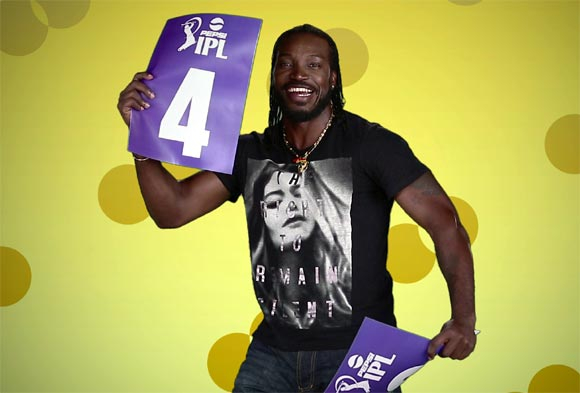 PHOTOS: Gayle's funky video a smash hit