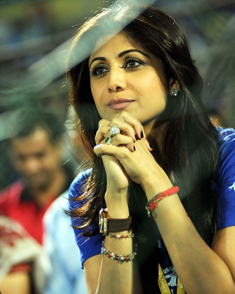 IPL PHOTOS: HOT Shilpa Shetty's prayers answered!