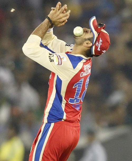 It was this dropped catch by Virat Kohli that cost Bangalore the match
