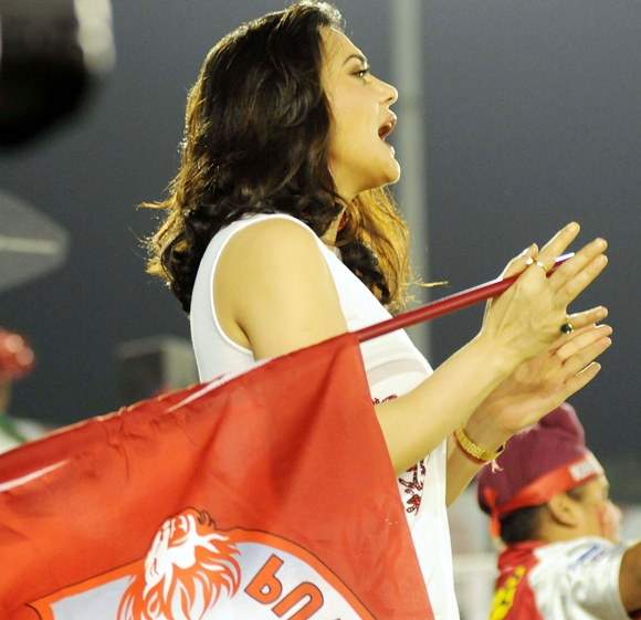 IPL PHOTOS: Preity Zinta charms Mohali!