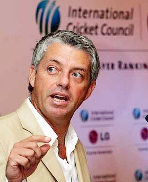 ICC CEO Dave Richardson