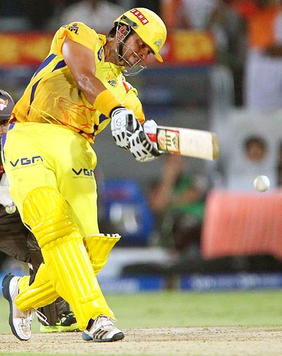 IPL: All-round Raina helps Chennai Super Kings thrash Sunrisers Hyderabad