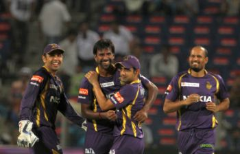 IPL: Kolkata bowlers send Pune crashing