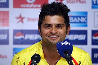 Raina not disappointed at missing out on a ton