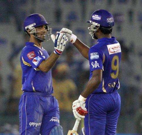 Sanju Samson and Ajinkya Rahane