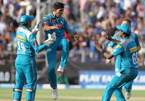 Ashok Dinda celebrates