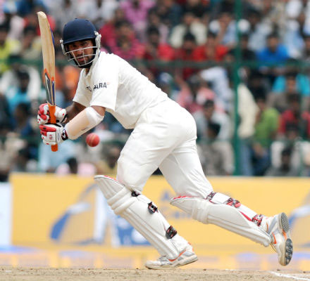 Cheteshwar Pujara didn't let the comparisons with Rahul Dravid get the better of him